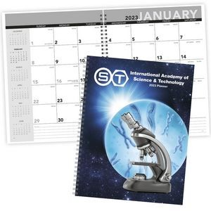 Triumph® Standard Year Desk Planner w/Custom Cover